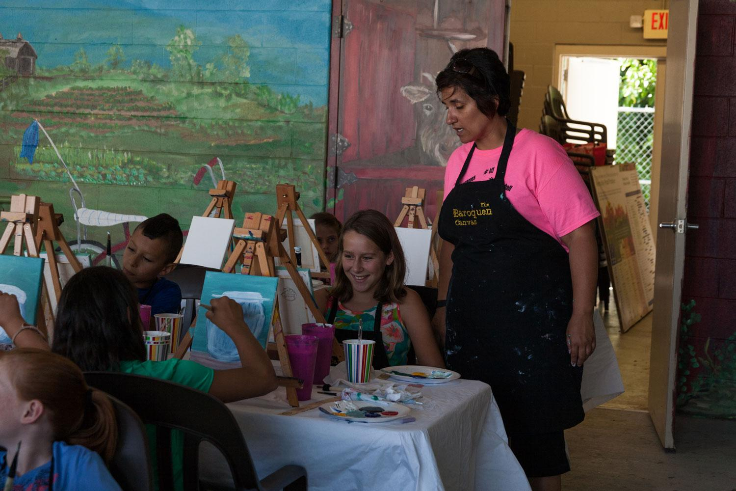"Baroquen Canvas - ""Brushes & Brunch"" at the Farmer's Market"